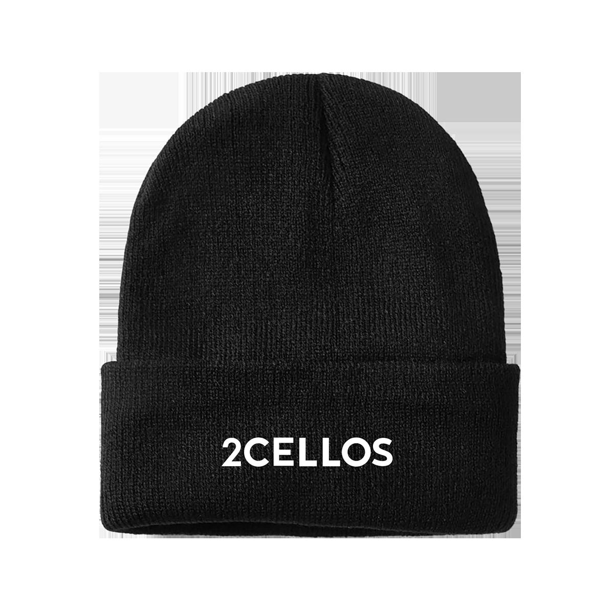 Buy Online 2 Cellos - 2CELLOS Black Beanie