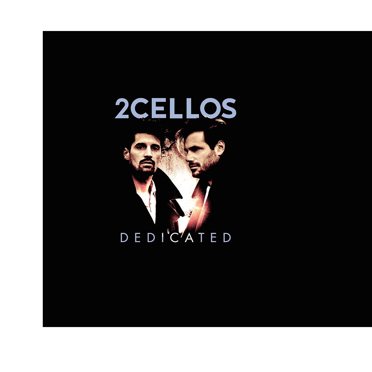 Buy Online 2 Cellos - 2CELLOS Dedicated Photo Black T-Shirt