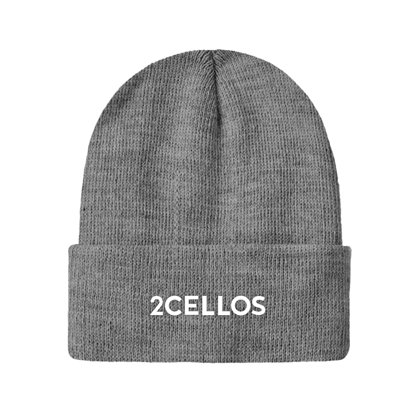 Buy Online 2 Cellos - 2CELLOS Grey Beanie