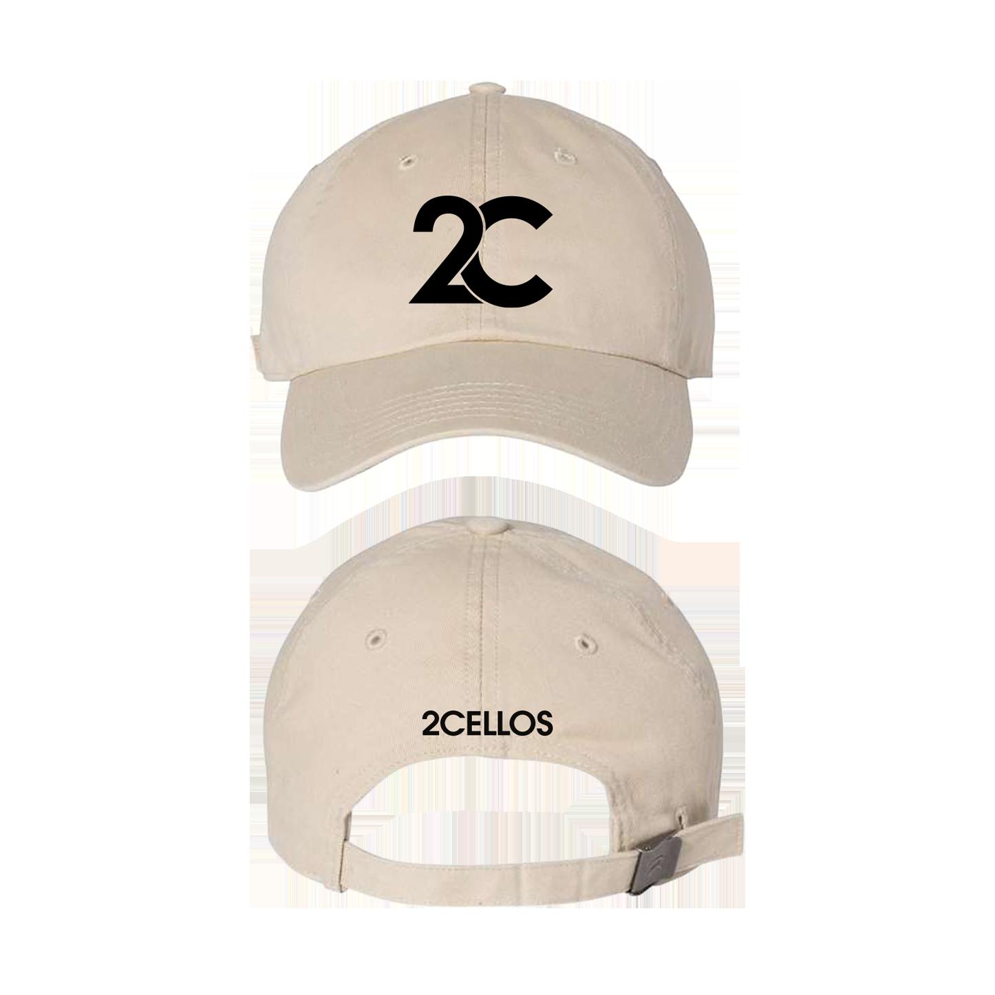 Buy Online 2 Cellos - 2CELLOS Khaki Dad Hat