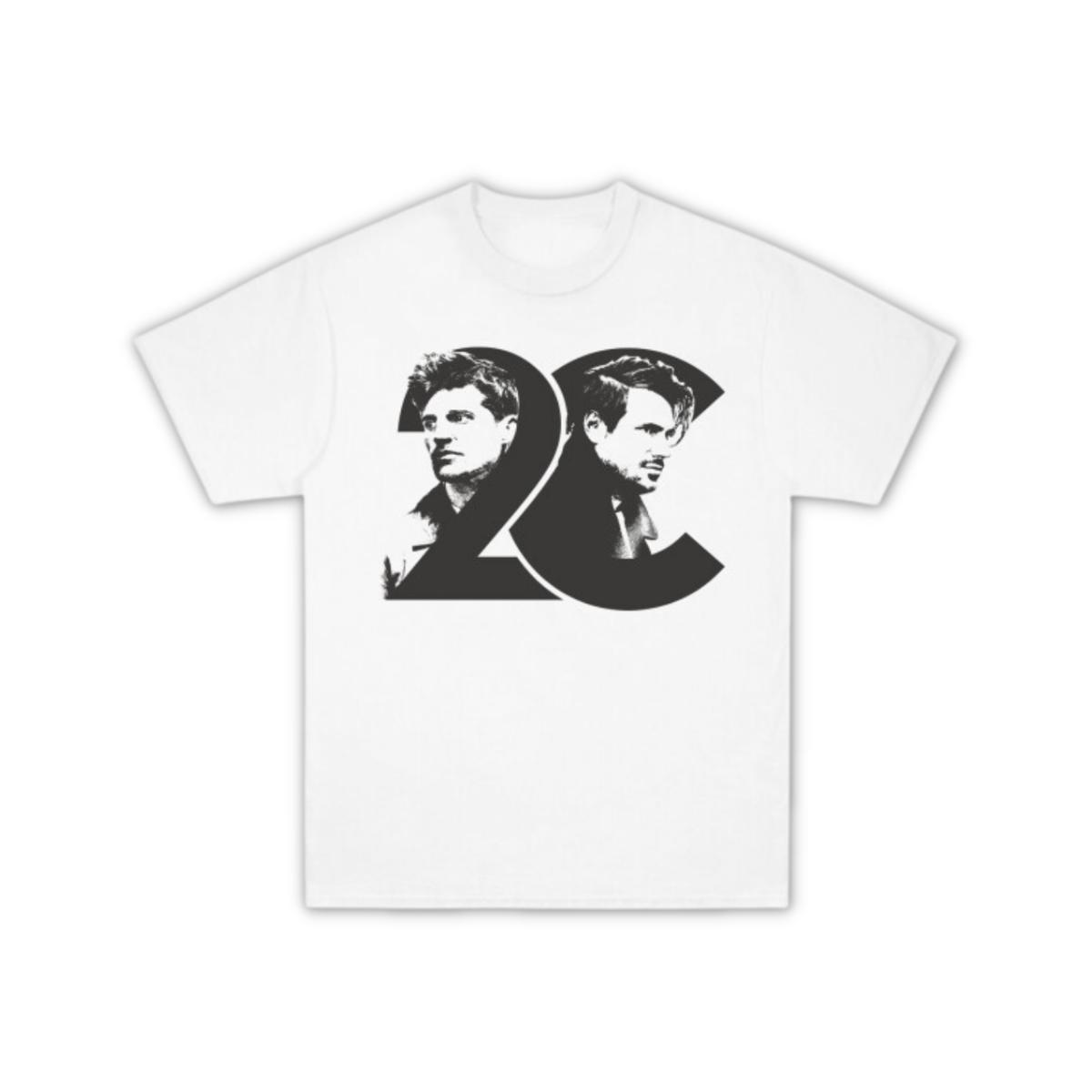 Buy Online 2 Cellos - 2CELLOS Dedicated Photo White T-Shirt