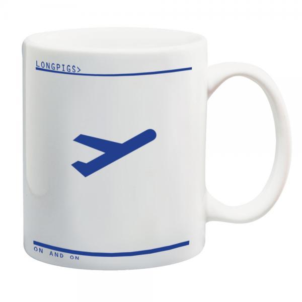 Buy Online Longpigs - Longpigs - Plane Mug