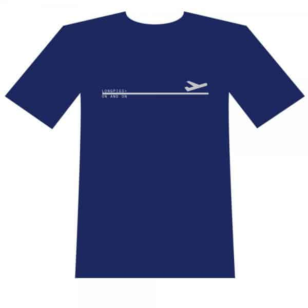 Buy Online Longpigs - Plane T-Shirt