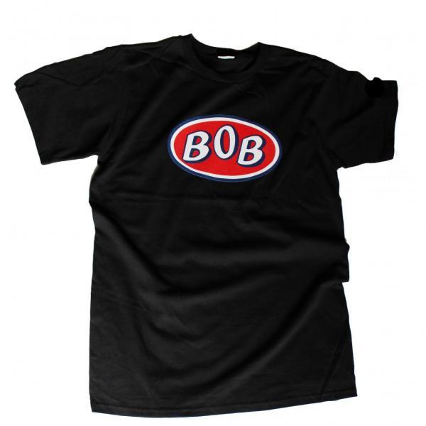 Buy Online BOB - BOB - Black Logo t-shirt