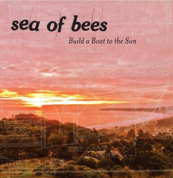 Buy Online Sea Of Bees - Build A Boat To The Sun (Signed CD)