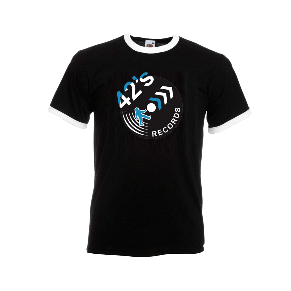 Buy Online 42's Records - 42's Records Logo T-Shirt
