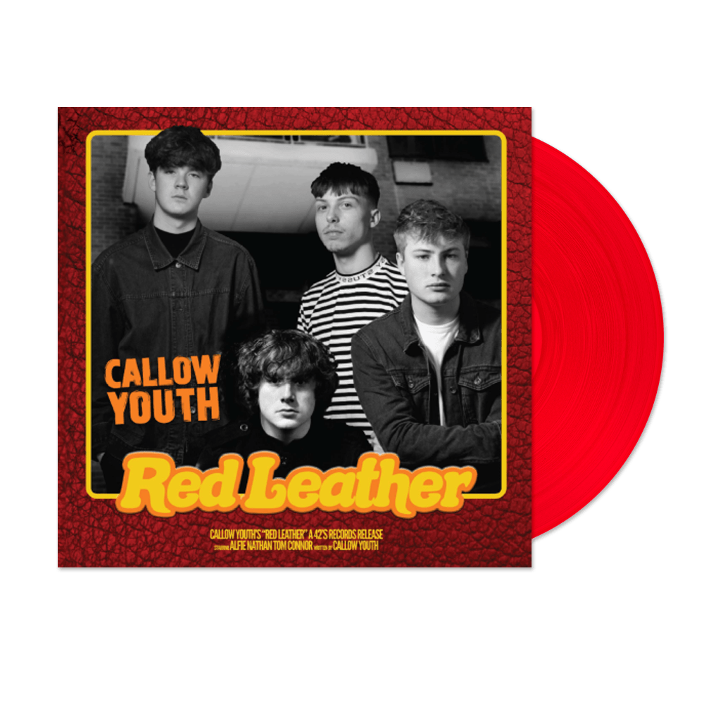 Buy Online Callow Youth - Red Leather Translucent Red (Signed)