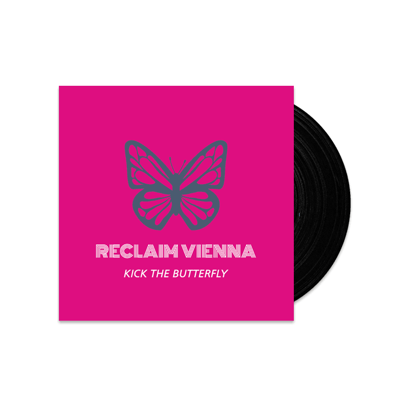 Buy Online Reclaim Vienna - Kick The Butterfly Black (Signed)