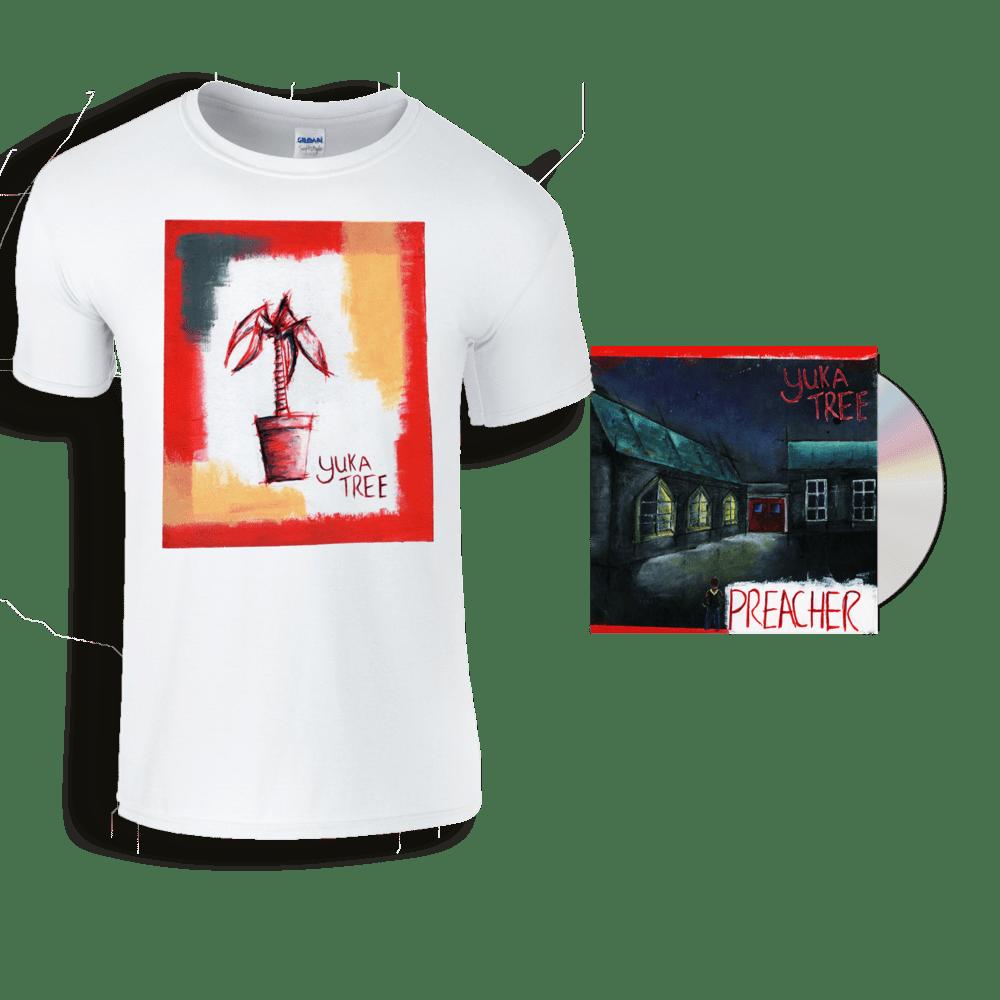 Buy Online Yuka Tree - Preacher CD + Yuka Tree Plant T-Shirt