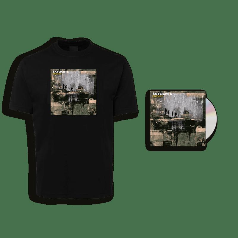 Buy Online Skylights - Enemies CD + T-Shirt
