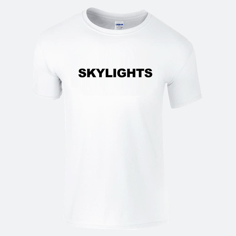 Buy Online Skylights - White Logo T-Shirt
