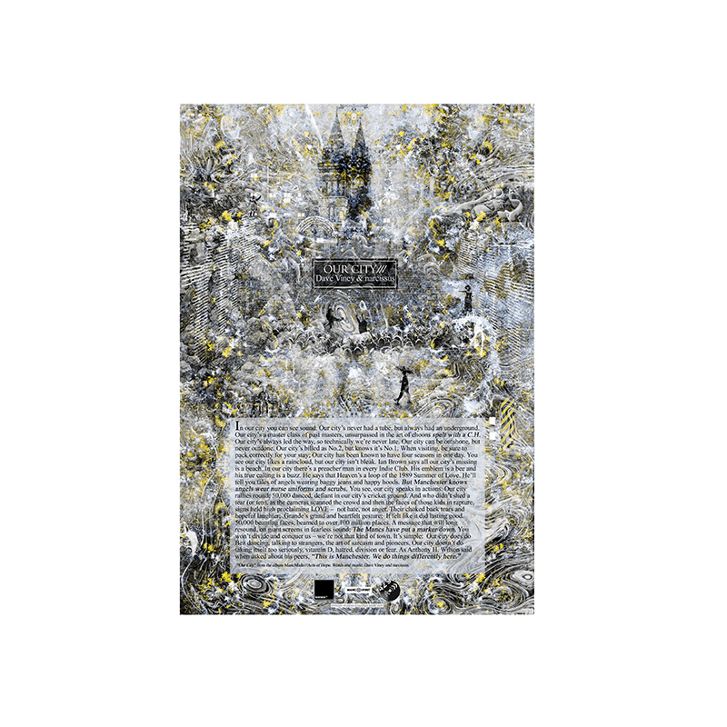 Buy Online Manc Made - Our City A3 Poster