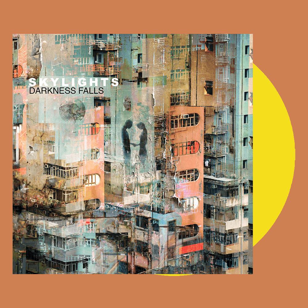 "Buy Online Skylights - Darkness Falls - 7"" Citrus Yellow Vinyl Single (Signed)"