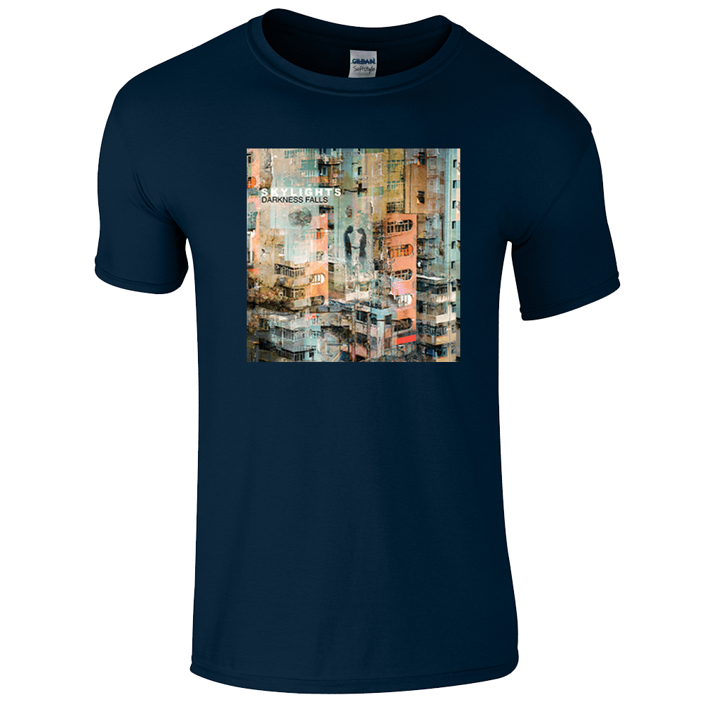 Buy Online Skylights - Darkness Falls Navy Tee (Men's/Women's fit available)