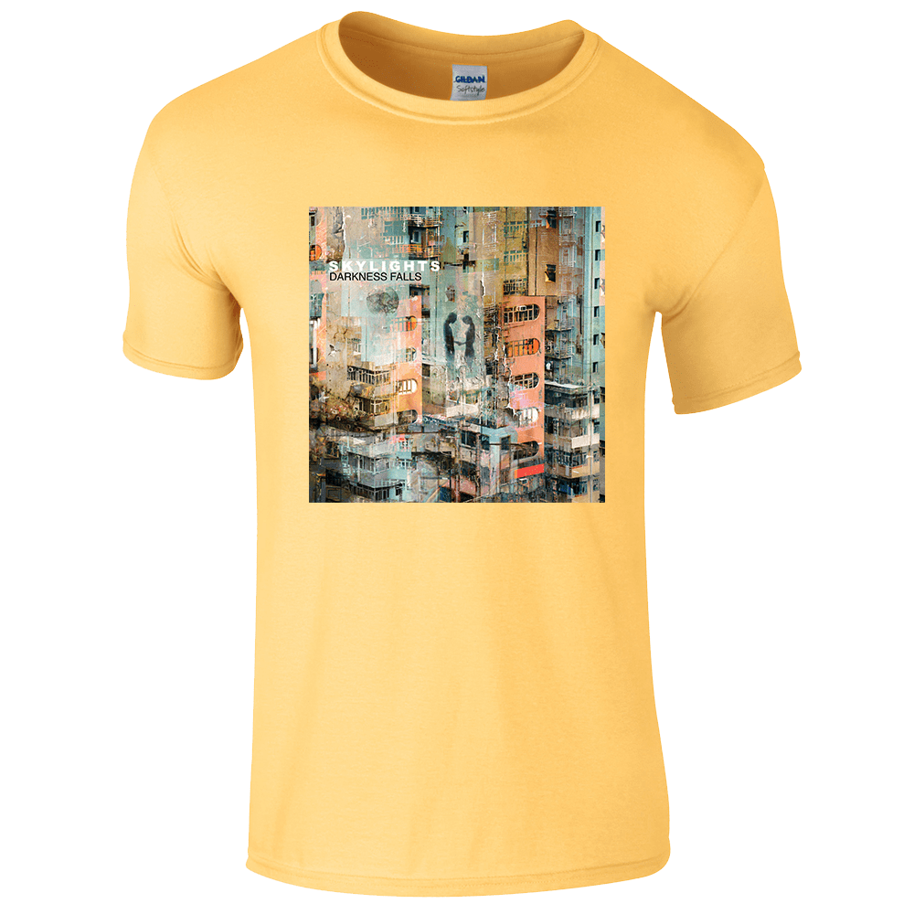 Buy Online Skylights - Darkness Falls Yellow Tee (Men's/Women's Fit Available)