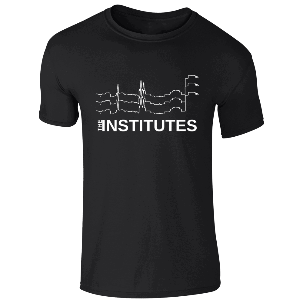 Buy Online The Institutes - Logo T-Shirt - Black