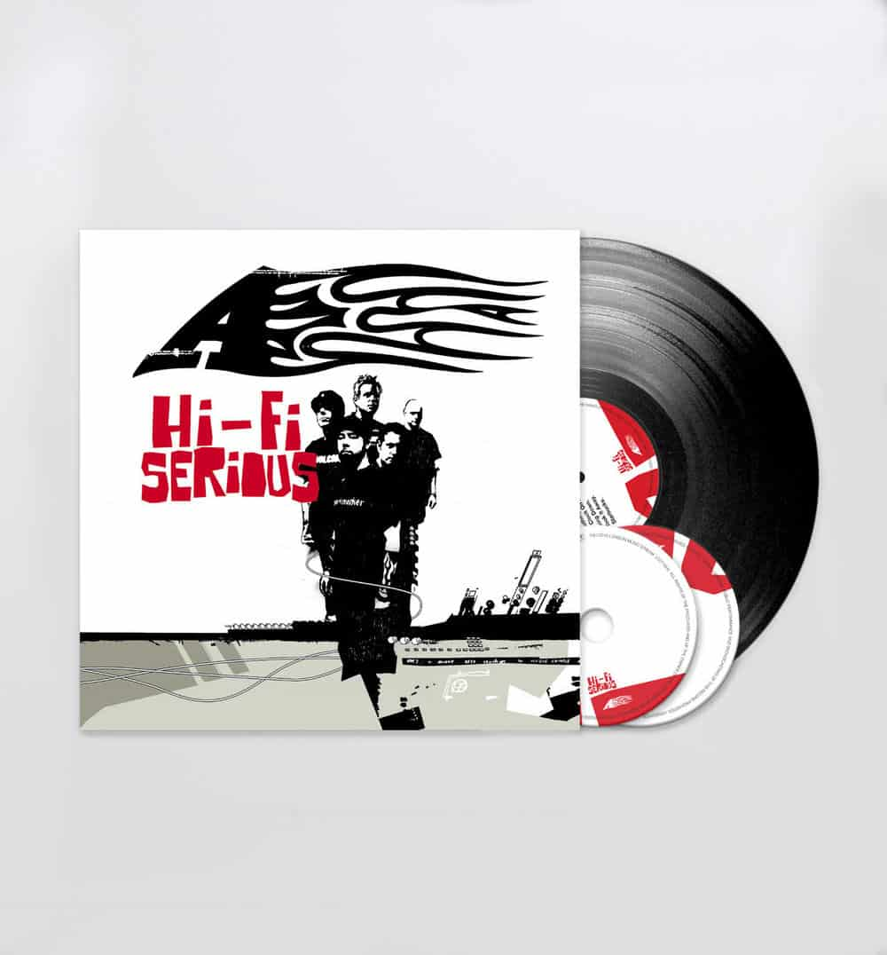 Buy Online A - Hi-Fi Serious - Black Vinyl LP