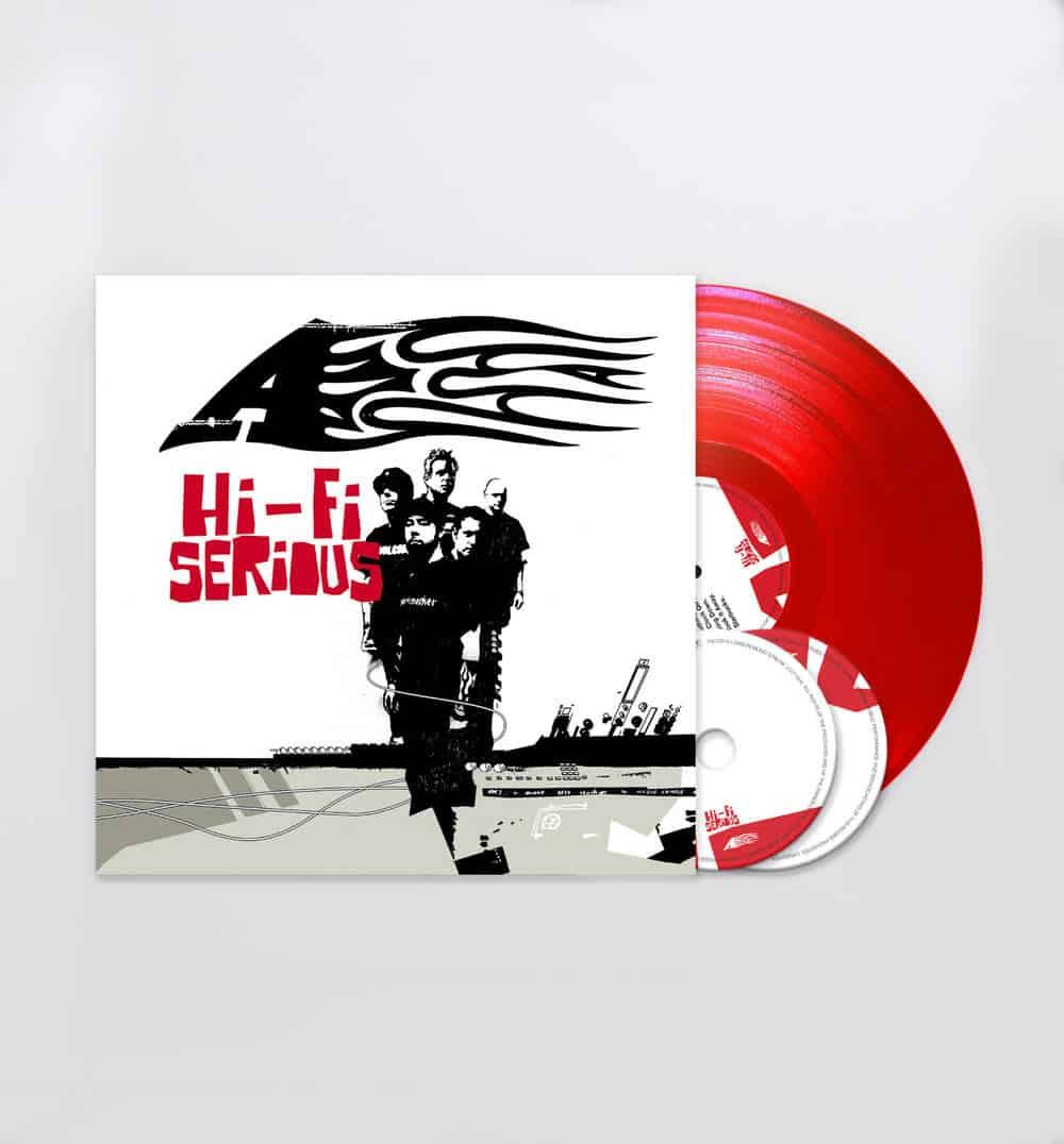 Buy Online A - Hi-Fi Serious - Red Vinyl LP