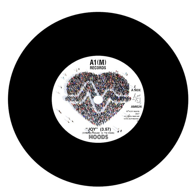 JOY Ltd Edition 7-inch Vinyl (Abbey Road edition)