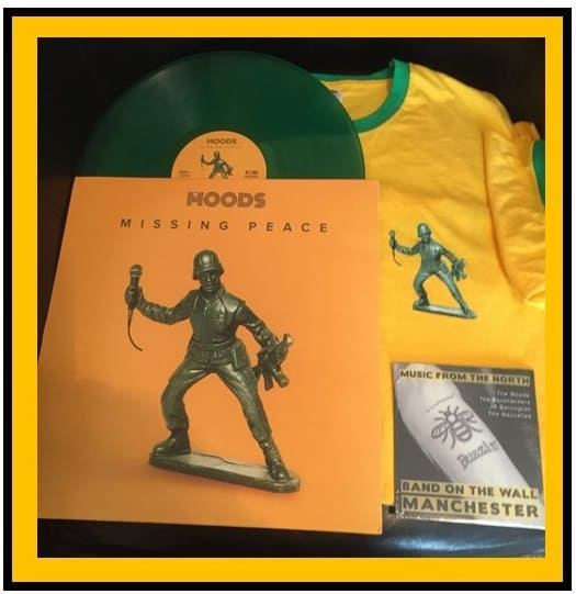 Buy Online A1M Records - Missing Peace 12 inch, Green Vinyl, Yellow T-Shirt & Music From The North CD Bundle