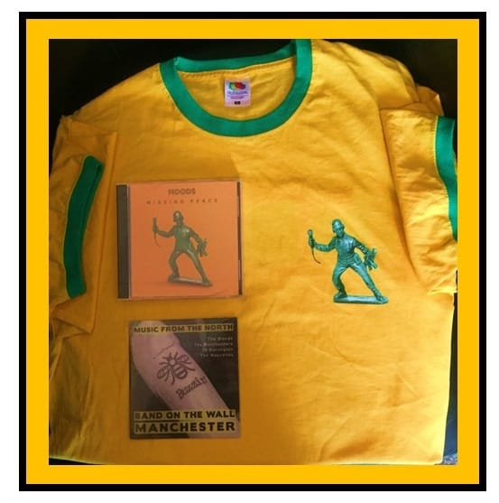 Buy Online A1M Records - Missing Peace CD , Yellow T shirt & Music from The North CD Bundle