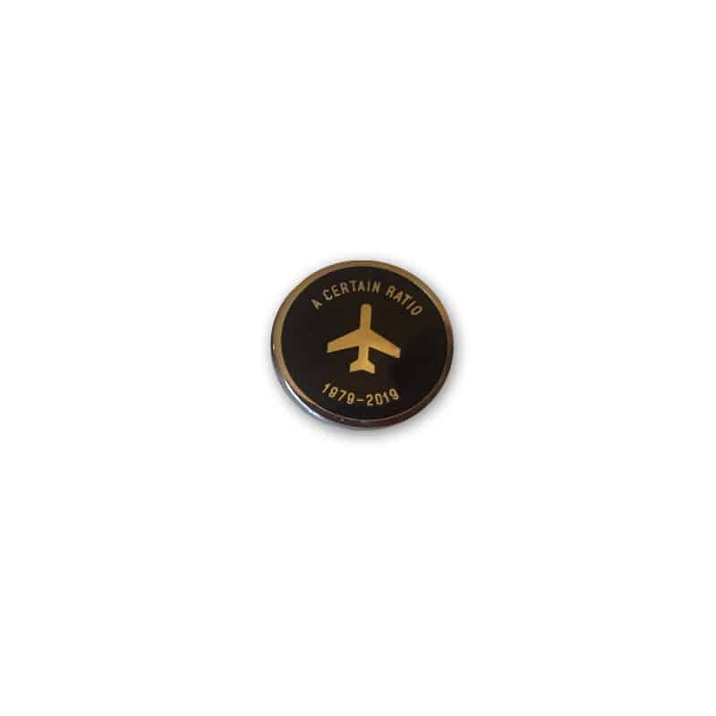 Buy Online A Certain Ratio - Anniversary Enamel Badge (Black)