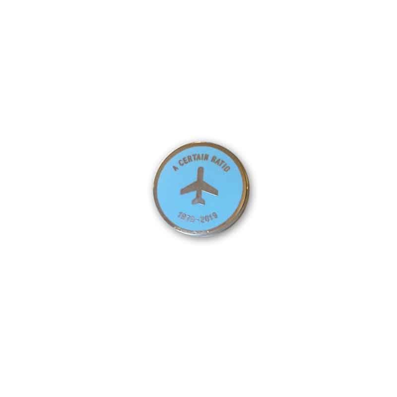 Buy Online A Certain Ratio - Anniversary Enamel Badge (Sky Blue)