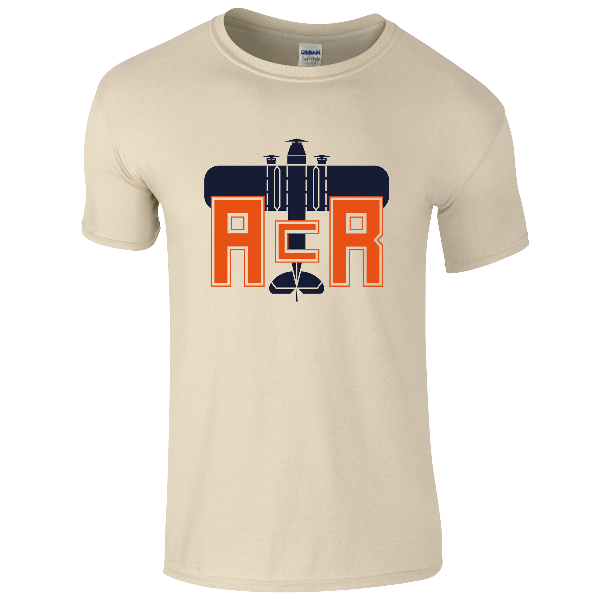 Buy Online ACR Retro Designs - ACR Wild Party Natural T-Shirt