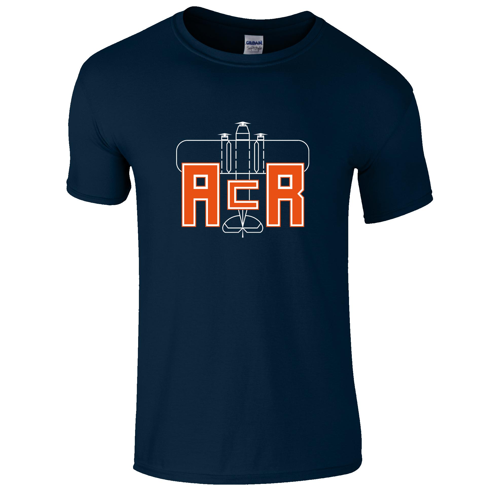Buy Online ACR Retro Designs - ACR Wild Party Navy T-Shirt