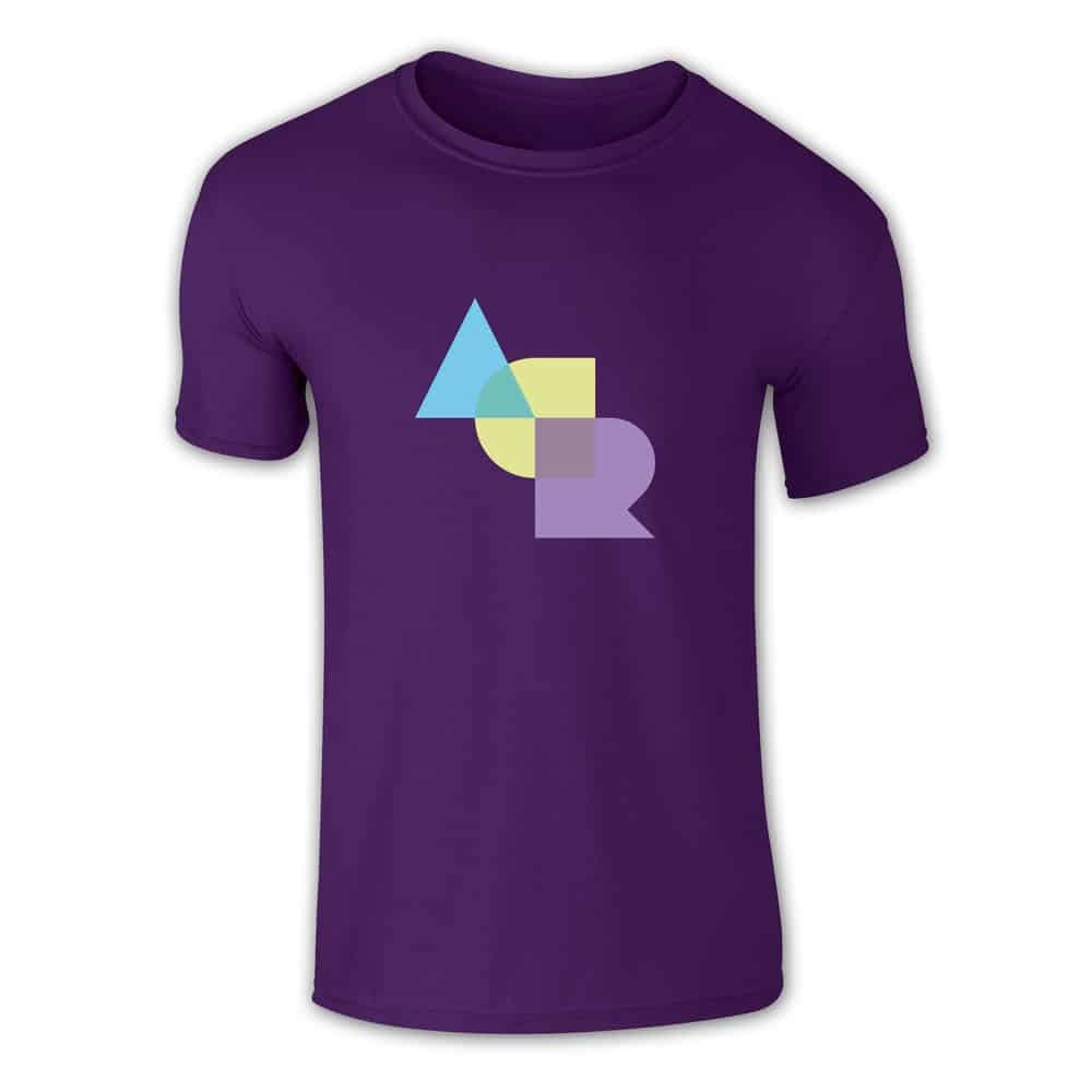 Buy Online A Certain Ratio - ACR Stacked Colour T-Shirt