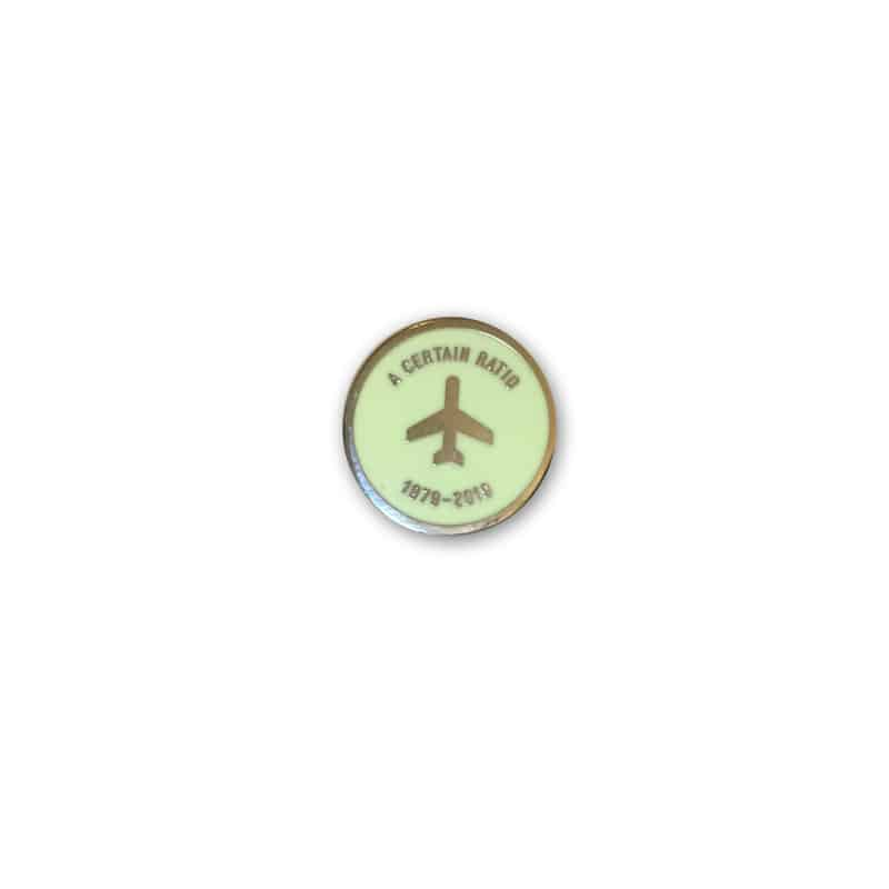 Buy Online A Certain Ratio - Anniversary Enamel Badge (Light Green)