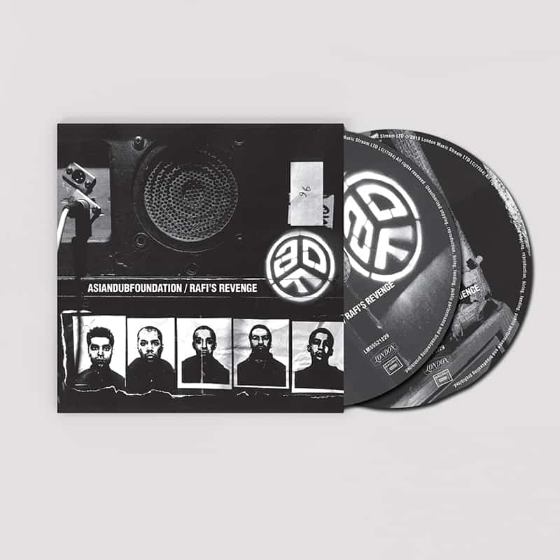 Buy Online Asian Dub Foundation - Rafi's Revenge Double CD (Signed)
