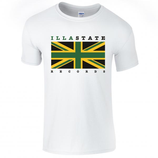 Buy Online Akala - White Illa State Records T-Shirt