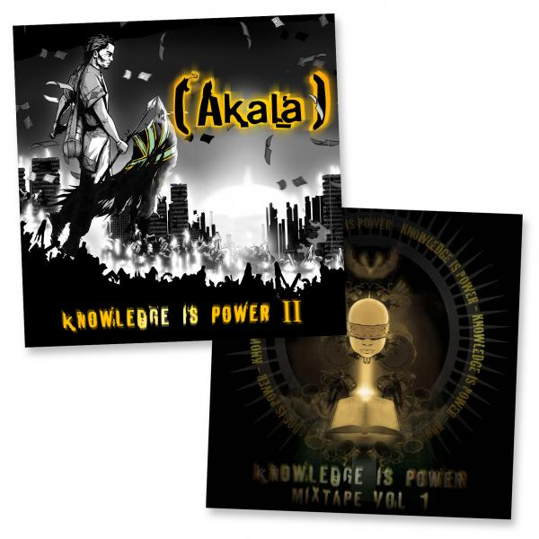 Buy Online Akala - Knowledge Is Power I + II CD Album Bundle