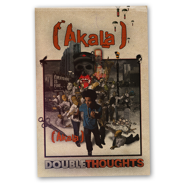 Buy Online Akala - Doublethoughts Book