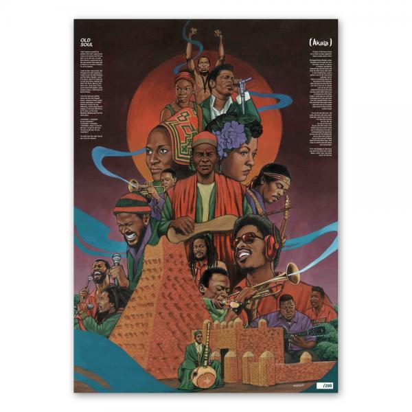 Buy Online Akala - Old Soul Poster