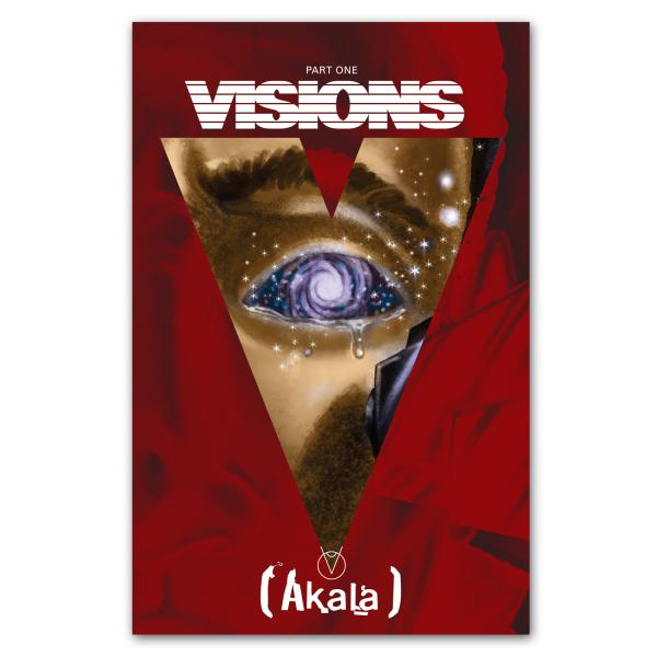 Buy Online Akala - Visions – A Comic Book EP