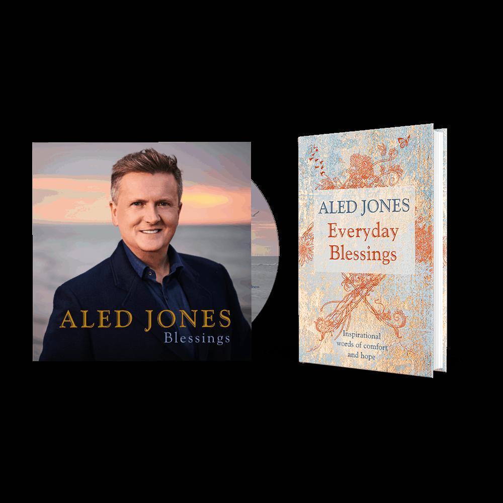 Buy Online Aled Jones - Blessings CD (Signed) + Everyday Blessings (Signed) Book