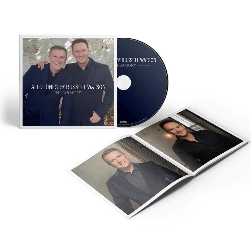 Buy Online Aled & Russell - In Harmony (Signed)