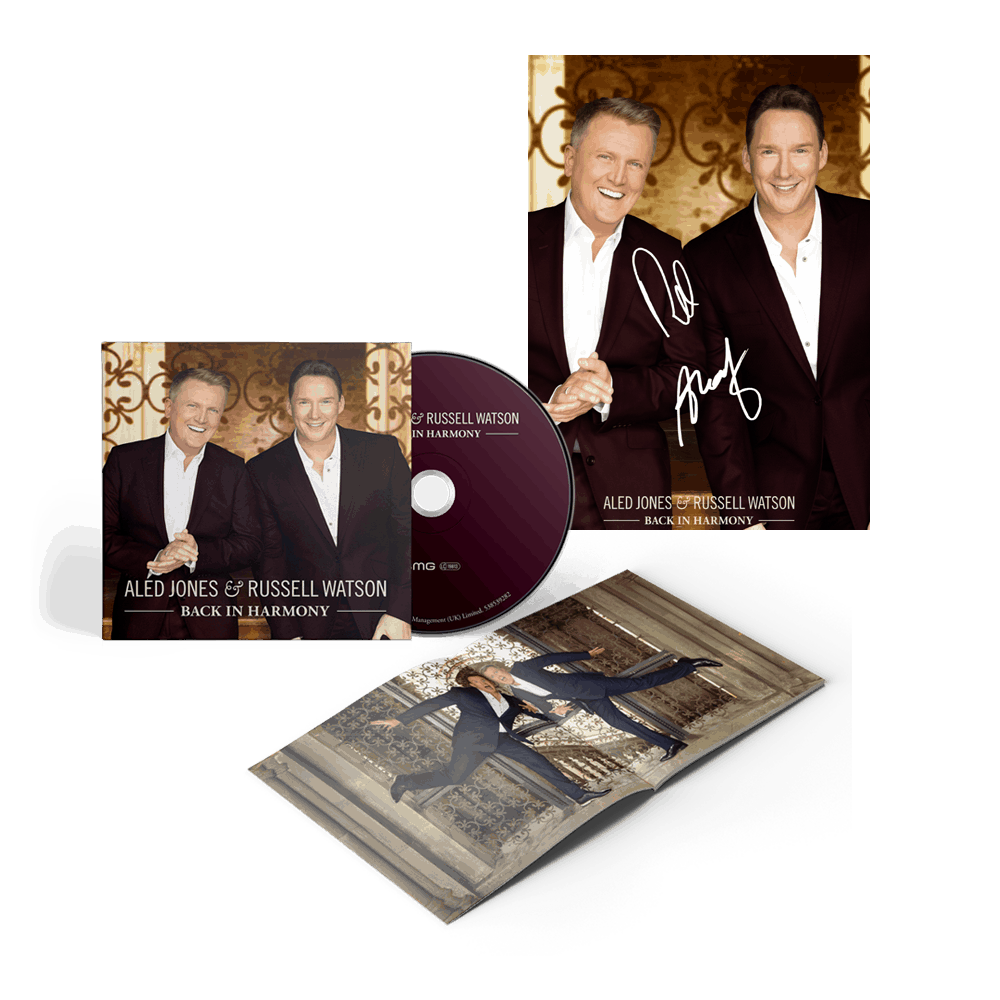 Back In Harmony + Exclusive Signed Photograph