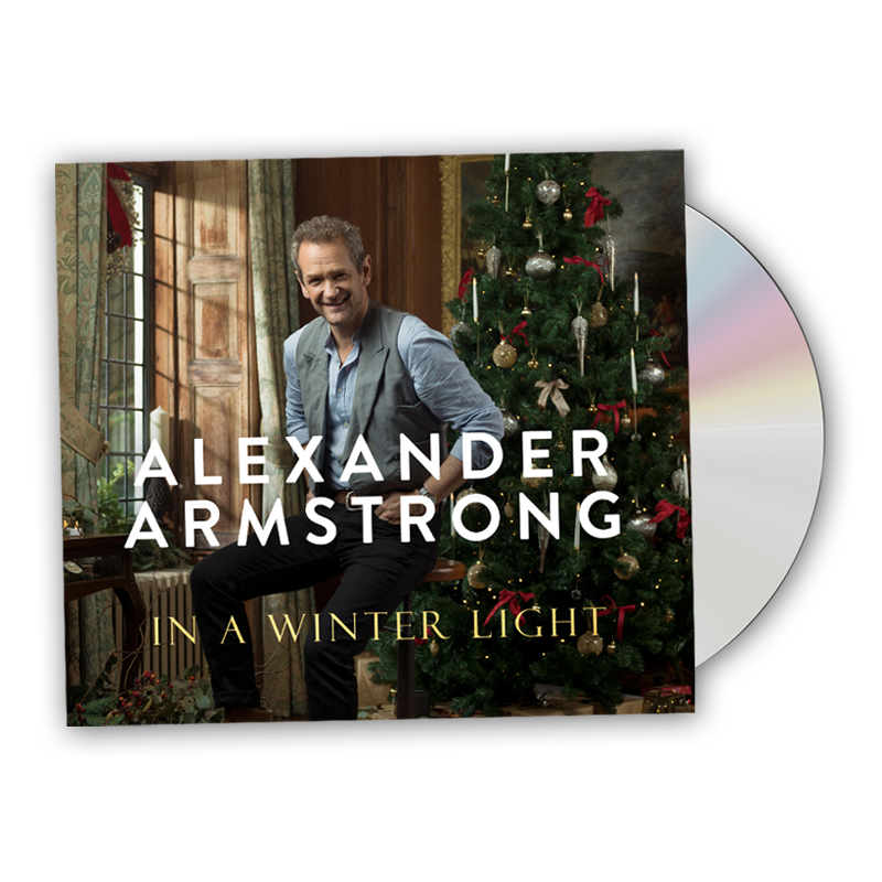 Buy Online Alexander Armstrong - In A Winter Light CD Album (Signed, w/ Free Christmas Card)