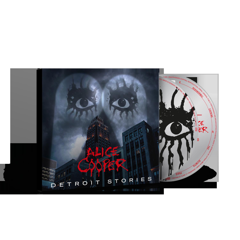 Buy Online Alice Cooper - Detroit Stories CD/DVD