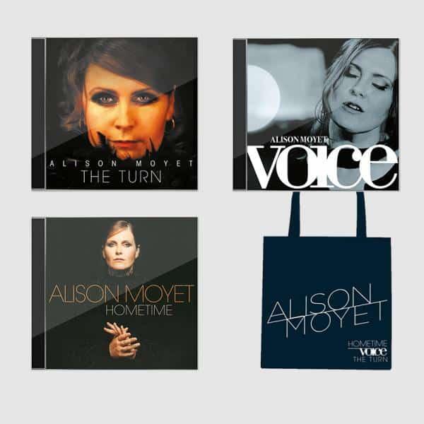 Buy Online Alison Moyet - 3 CD And Tote Bag Bundle