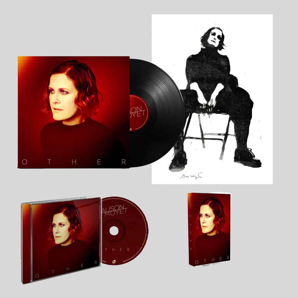 Buy Online Alison Moyet - Other CD W/Signed Print, Signed LP & Cassette Bundle