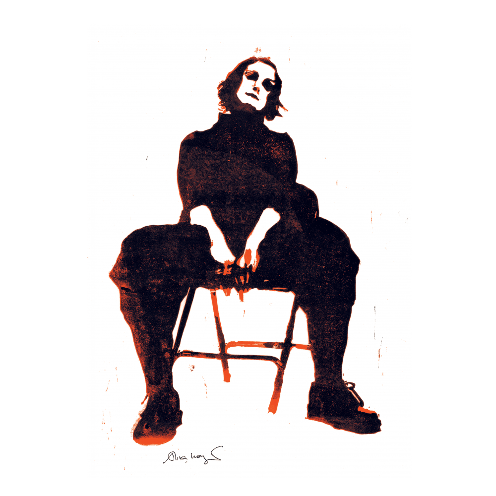 Buy Online Alison Moyet - Limited Edition A3 numbered print of linocut created by Alison Moyet