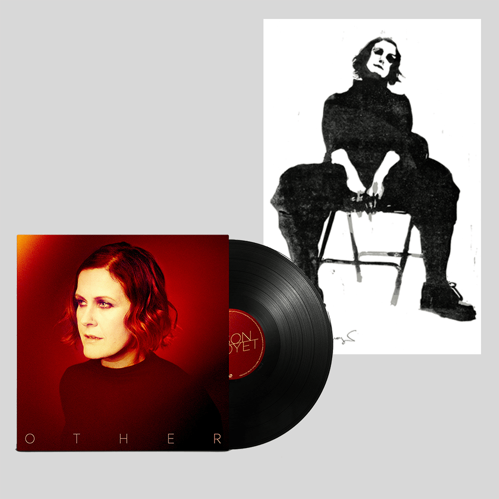 Buy Online Alison Moyet - Signed LP & A3 numbered print of linocut created by Alison Moyet Bundle