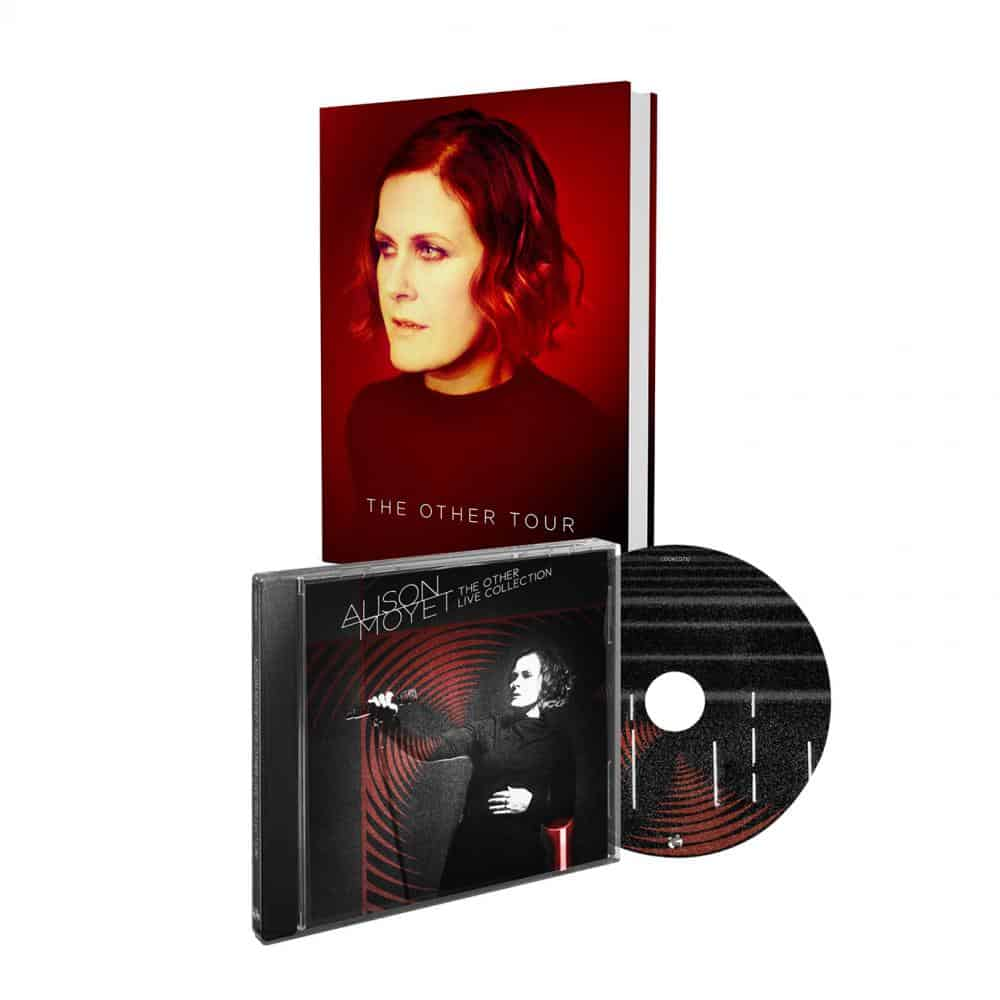 Buy Online Alison Moyet - Live Album (SIGNED) +  Signed Hard Back Tour Programme