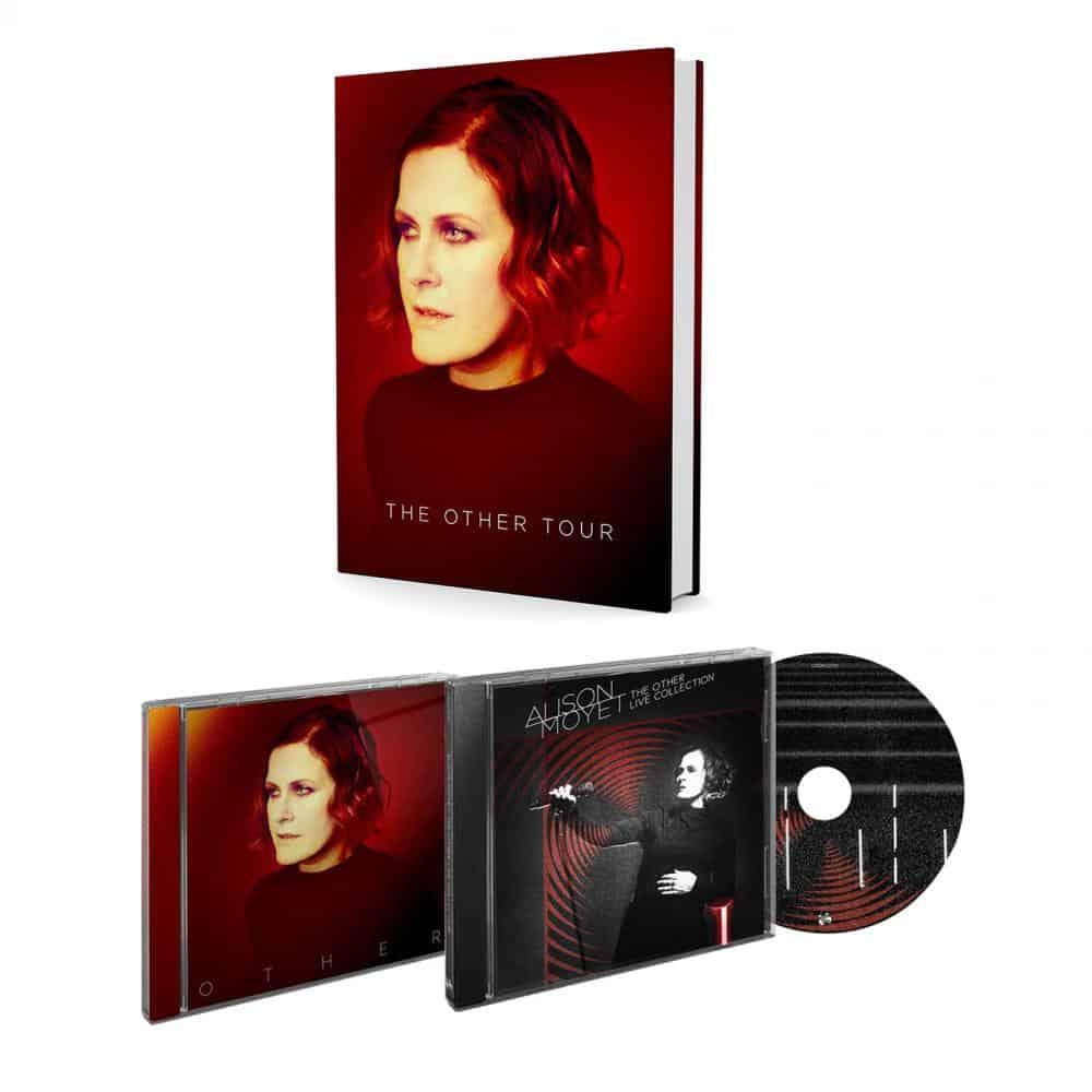 Buy Online Alison Moyet - Live Album (SIGNED) + Other + Signed Hard Back Tour Programme