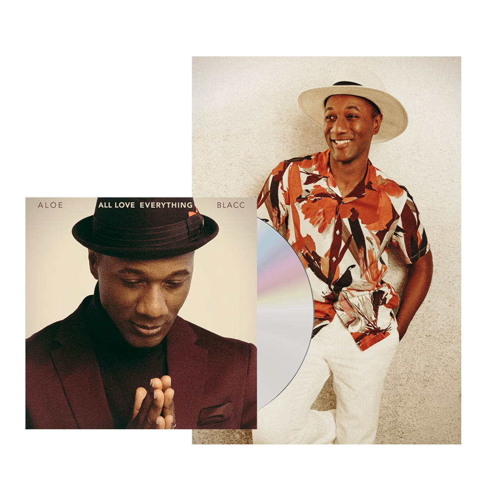 Buy Online Aloe Blacc - All Love Everything (Signed) + A4 Photograph (Exclusive)