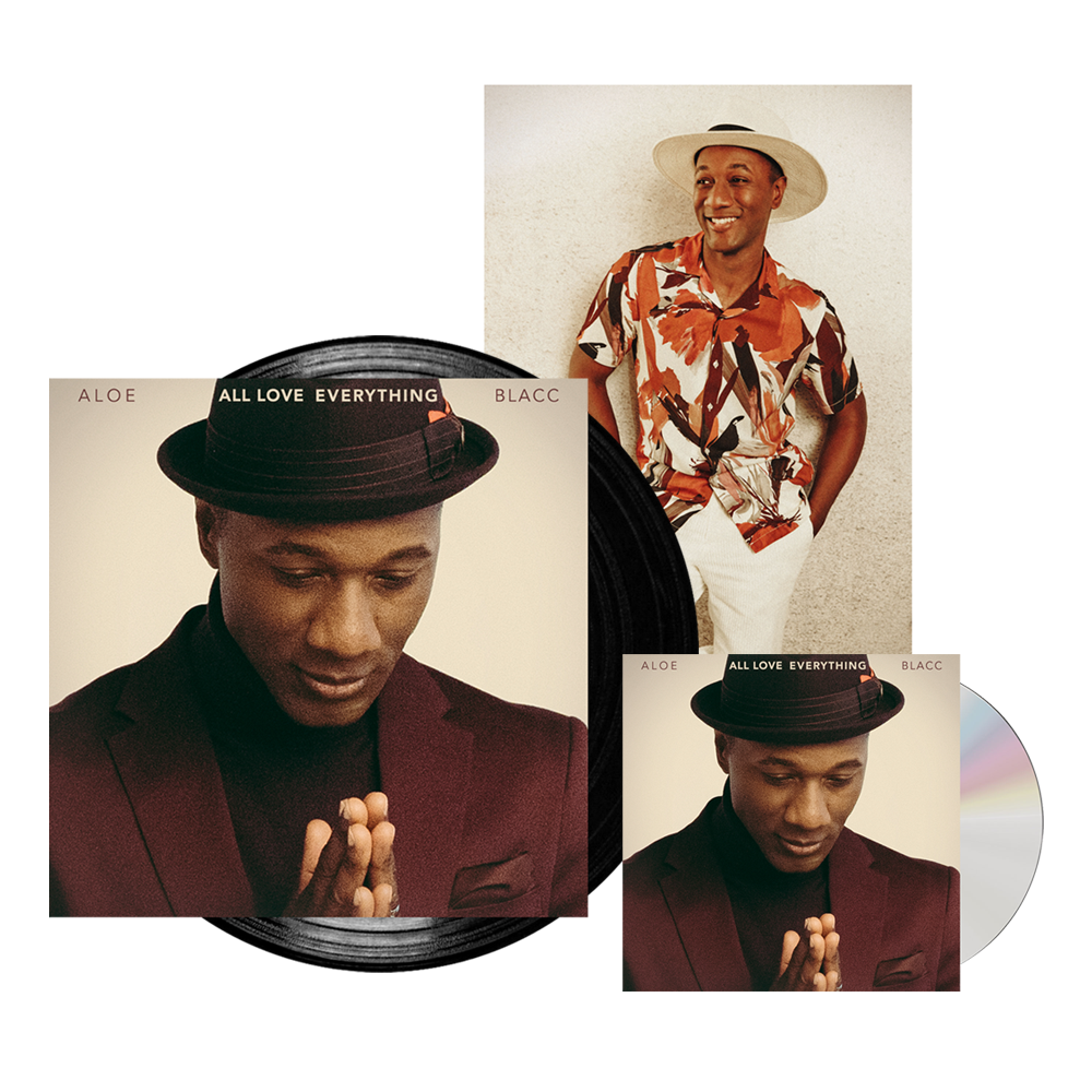 Buy Online Aloe Blacc - All Love Everything CD (SIgned) + Vinyl (Signed) + A4 Photograph (Exclusive)
